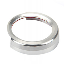 Silver Engine Start Push Button Ring Trim For BMW 1 Series /2 3 4 Series/X1 F48