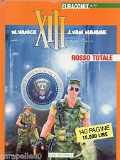XIII ROSSO TOTALE Euracomix n. 77