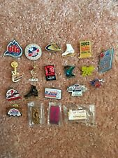 Ice Skates buttons Pins For Collection Lot Of 20