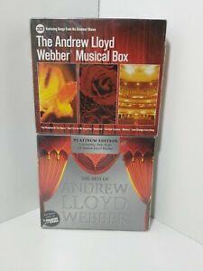 Andrew Lloyd Webber 2 x Boxsets Musical Box & Platinum Edition with Phantom DVD