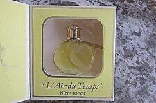 Rare Nina Ricci L' Air du Temps Lalique 1/6 oz 0.5 oz parfum perfume-NEW