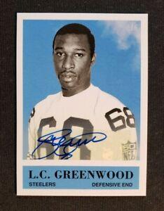 2007 Upper Deck L.C. Greenwood Auto Signed #'d 3/5