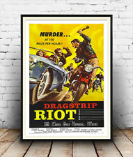 Dragstrip Riot  : Old film Poster reproduction
