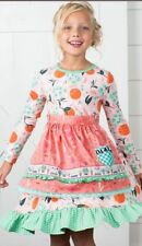 NWT In Bag Matilda Jane Girls Size 8 Joanna Gaines Sweet Clementine Dress New