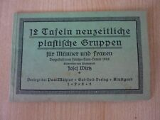 Wirtz,J.: 12 Tafeln neuzeitliche plastische Gruppen für Männer und Frauen /1925