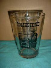 """Vintage Tombstone Arizona Glass Beer Pitcher, """"Short Beer"""" Wild West, Gunslinger"""
