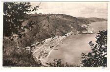 Oddicombe Beach,England. Torquay Devon Postcard.