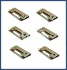 Genuine BMW E36 318 325 328 M3 Metal Repair Door Panel Clip Set of 6 51418122408