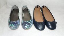 Old Navy Girls Flat Shoe (Lot of 2 pairs) adorable ballet maryjane Shoes Sz 11