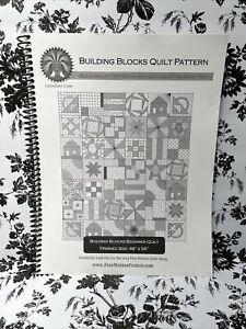 "Building Blocks Quilt Pattern 48""x56"""