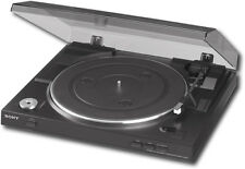 Open-Box Excellent: Sony - USB Stereo Turntable - Black