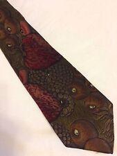 MOSCHINO cravatta tie original 100% seta silk made in Italy nuova new