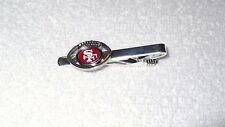 San Francisco 49ers Football Team Men's Tie Clip Clasp NFL Accessory Suit Sports