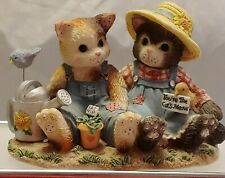 """Collectible Calico Kittens """"You're The Cat's Meow"""" Enesco No 204005"""