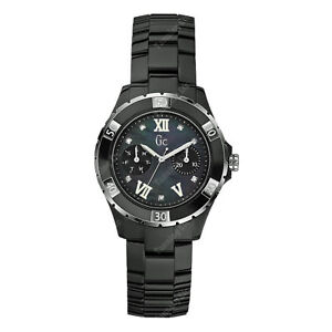 GUESS COLLECTION CERAMIC GENUINE DIAMONDS Swiss Made X69106L2S 85 RETAIL $850