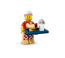 LEGO Minifigures / Minifiguras 71018 - Series 17 - Vendedor de hot dogs