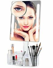 New Led Makeup Mirror with Lights Lighted Vanity Mirror with Makeup Pocket Mirro