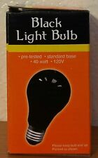 Halloween Black Light Bulb (40 Watts) D4014