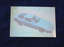 1988 Corvette Callaway Sledgehammer Vette Set Hologram Collect-A-Card  E1618