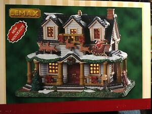 Lemax Winter Haven Holiday Village Christmas Lighted House