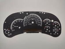 US Speedo SS Style LED Edition Black Gauge Face 2006 2007 2500 Gas GM Clusters