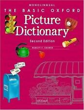 The Basic Oxford Picture Dictionary by Margot Gramer (2002, Paperback)