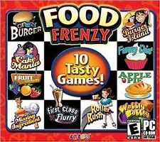 Food Frenzy (PC, CD ROM 2011) 10 Tasty Games NEW Sealed