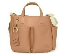Skip Hop Vegan Leather Greenwich Simply Chic Diaper Bag (New) Baby Stroller NWT!