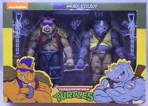 GENUINE - NECA Teenage Mutant Ninja Turtles BEBOP & ROCKSTEADY TMNT Cartoon