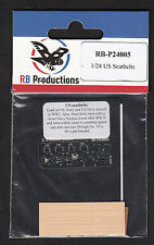 Rb-p24005/RB Productions-US Army/US Navy seatbelts-Beige - 1/24