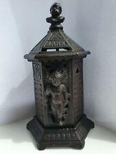 Original Antique CUPID Cast Iron Space Heater Bank