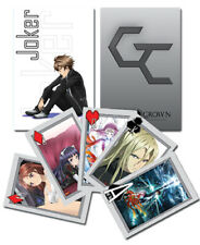 GUILTY CROWN GUILTY CROWN - PLAYING CARD DECK - 52 CARDS - BRAND NEW - 51018