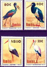 Namibia 1994 , BIRDS - Storks of Namibia , Stamp set MNH