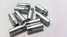 100-Pack Bike Bicycle Aluminum Shift Housing Ferrule Cap 4mm New