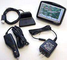 "TomTom GO 715 Car Portable GPS Navigator Bundle Set 4"" LCD tom 910 710 road trip"