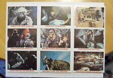 1980 Topps Empire Strikes Back Burger King Set - Star Wars 36 Trading Cards
