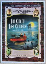 CITY OF LOST CHILDREN ORIGINAL 1995 1SHT MOVIE POSTER LINEN RON PERLMAN EX