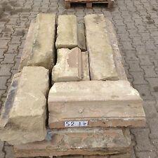 9 Antike Sandstein Ruine Weinkeller Natursteinmauer Buntsandstein Gartenmauer S2