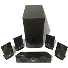 LG Home Theater Surround Sound Speakers (1) SH96SB-C (1) SH95TA-W (4) SH96SB-S
