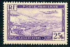 TIMBRE COLONIES FRANCAISES ALGERIE NEUF POSTE AERIENNE N° 5 *