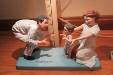 Norman Rockwell Baby's First Step Figurine.Pre-Owned