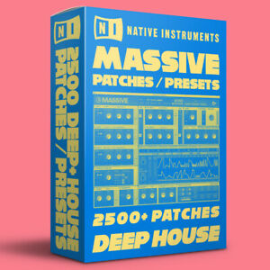 2500+ DEEP HOUSE Patches / Presets for Native Instruments Massive