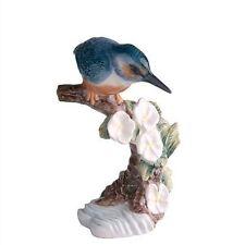 John Beswick Kingfisher Figurine Earthenware Multi-colour
