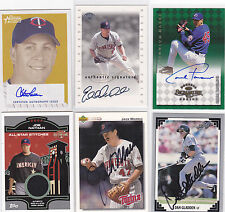 Steve Tolleson 06 Bowman Heritage Certified Auto #Sg-St Mint On Card Twins