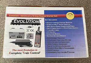 Digitrax DCC Evolution Advanced 5/8 Amp Duplex Starter Set Controller