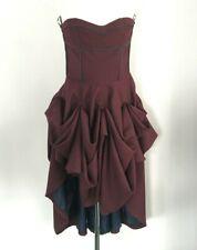 £250 Lisa Jayne Dann ASOS Gathered Skirt Victorian Corset Bustier Dress 12 14