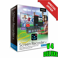 ⭐Offer⭐CyberLink Screen Recorder 4 Deluxe-LifeTime-Multilingual✔️Fast Delivery