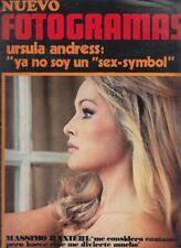 Nuevo Fotogramas Spanien Ursula Andress,Maria Perschy,Stephane Audran