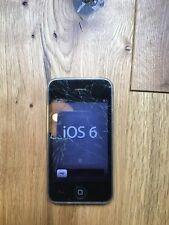 Apple iPhone 3GS - 16GB - Schwarz - Voll funktionsfähig, außen beschädigt
