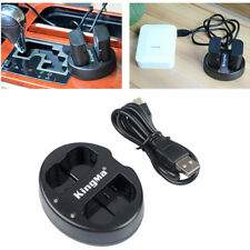 For Nikon D750 D7100 D7000 D610 D600 D800E EN-Battery USB Double Charger 4.2V